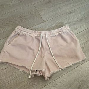 Aerie distressed shorts